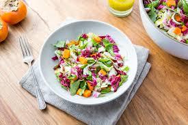 thanksgiving salad persimmon salad u003e u003e the gantzery