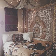 anthropologie florence bedding bed canopy with christmas lights