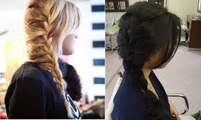 plait at back of head hairstyle get the look 5 braids in 5 days thefashionspot