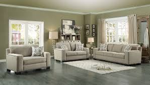 Chenille Living Room Furniture by Homelegance Gowan Sofa Set Chenille Beige 8477nf Sofa Set
