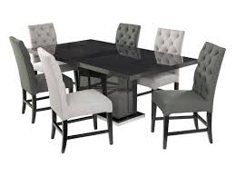 Buy Dining Furniture Monte Carlo Dining Table   Alpha Dove - Monte carlo dining room set