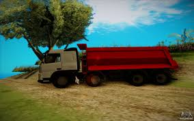 volvo sa trucks volvo fmx for gta san andreas