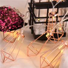 battery powered outdoor led string lights 20pcs led string light rose gold battery powered fairy