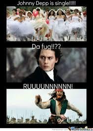 Johnny Depp Meme - johnny depp single by blackmoon meme center