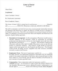 40 letter of intent templates free word documents