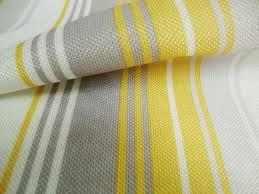 Orange Curtain Material Nova Yellow Stripes Curtain Fabric By Curtains N Fabx