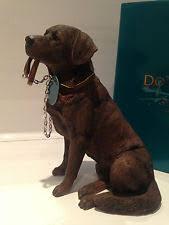 chocolate labrador retriever sitting walkies ornament gift