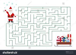 maze preschool school stock vector 726361822