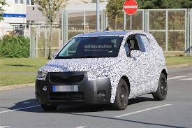 opel meriva 2017 2017 opel meriva spied in front of opel headquarters still