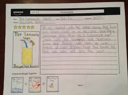 4th grade book report sample lesson deli amazon book listing writing activity sunday august 30 2015