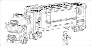 print u0026 download lego fire truck coloring pages