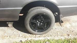 ford ranger tyre size photos of different wheel tire sizes on stock and lowered 2wd s