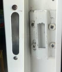Patio Door Hardware Replacement Patio Door Latch Wondrous Ideas Barn Patio Ideas