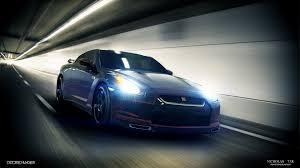 Nissan Gtr Update - nissan gtr tunnel by distortedimagery on deviantart