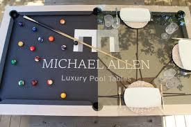 American Pool Dining Table Luxury Pool Tables Luxury Custom Pool And Snooker Tables