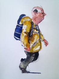 watercolor sketching 5 june 2012 the hiking artist project by