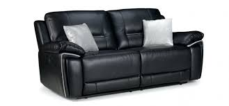 3 Seater Leather Recliner Sofa Stupendous Black 3 Seater Leather Sofa Photos Gradfly Co