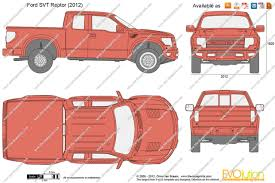 2012 ford f150 dimensions the blueprints com vector drawing ford f 150 svt raptor