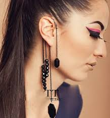 earrings with chain ear cartilage search on aliexpress by image
