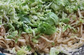 latke mix brussels sprout latke recipe bay area bites kqed food