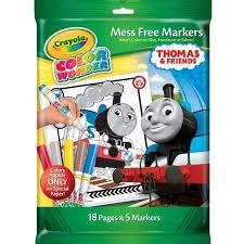 crayola color coloring book thomas train walmart