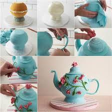 how to diy beautiful teapot cake teapot cake edible cake and