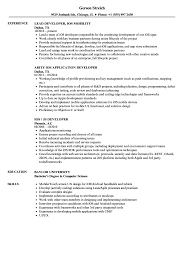 sle of resume developer ios resume sles velvet