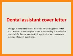 11 sample cover letter for dental assistant dtn info