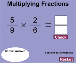 math problem fractions 5th grade math math chimp