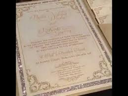 pocketfold wedding invitations glitter pocketfold wedding invitation