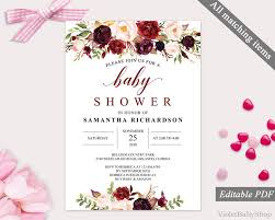 the 25 best baby shower invitation templates ideas on pinterest