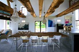 Modern Rustic Style At Home Oliver Burns - Rustic modern interior design