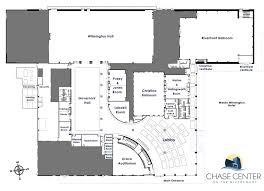 chase center full floor plan