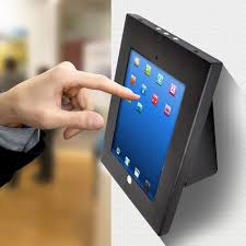 new pyle pspadlkw5 anti theft kiosk multi mount stand for ipad 2 3