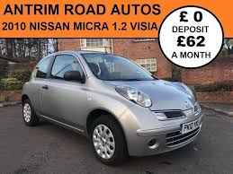 nissan micra 2010 2010 nissan micra 1 2 visia finance available with no deposit