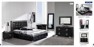 Contemporary Bedroom Furniture Set Bedroom Black Zigzag Chestdrawer Contemporary Bedroom Set With