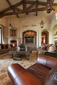 Living Room Decorating Ideas How To Decorate A Tuscan Style - Tuscan family room