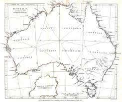 Iberian Peninsula Map Proposed Division Of Australian States Australian Vintage