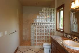 glass block designs for bathrooms glass block shower plans 1 24 spaces