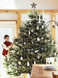traditionally decorated tree do you like this idea