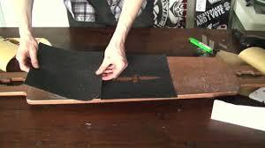 cutting a design u0026 gripping a board youtube