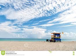 La Maison Du Sud Plage Du Sud Miami La Floride Maison De Maître Nageur Dans Un