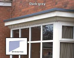fibreglass bay roofs choose a style and colour the lead alternative