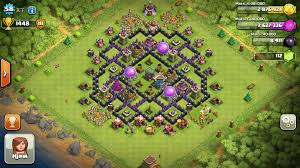 Clash Of Clans Maps Clash Of Clans Base Designs Per Town Hall Walkthrough Guides