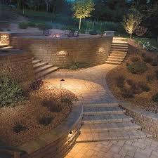 retaining wall lights under cap retaining wall lights low voltage lovely i love this patio lighting