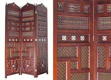 Wooden Room Dividers by Carved Wood Screen Ebay