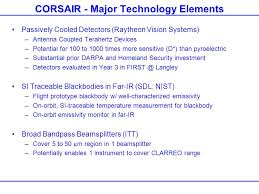 corsair r ervation si e corsair calibrated observations of radiance spectra in the far