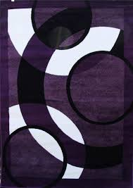 Purple And Black Area Rugs Awesome Purple And Black Area Rugs Roselawnlutheran Within Rug 5x7
