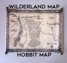 Map Middle Earth Map Of Middle Earth Scroll Lord Of The Rings Map The Hobbit