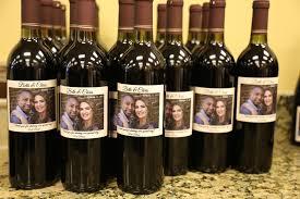 wine bottle wedding favors custom wine bottle wedding favors your own winery riverdale nj